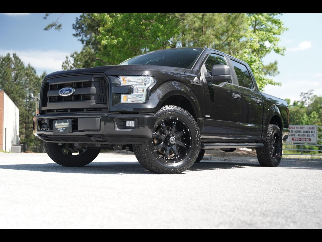 2015 Ford F-150 4WD Super Crew Sport Ecoboost XLT