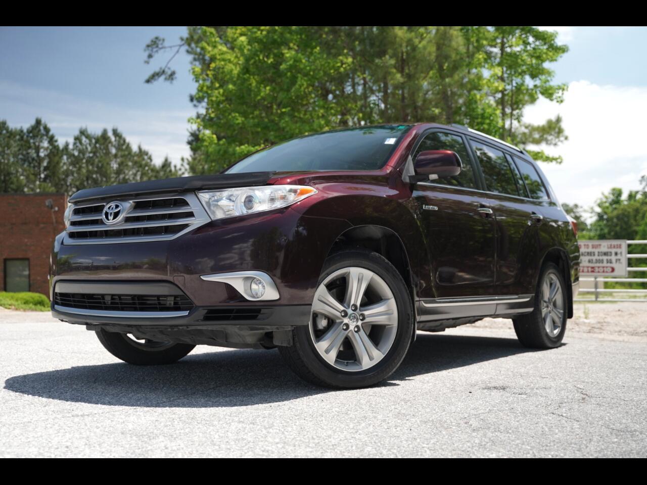 2013 Toyota Highlander Limited Loaded