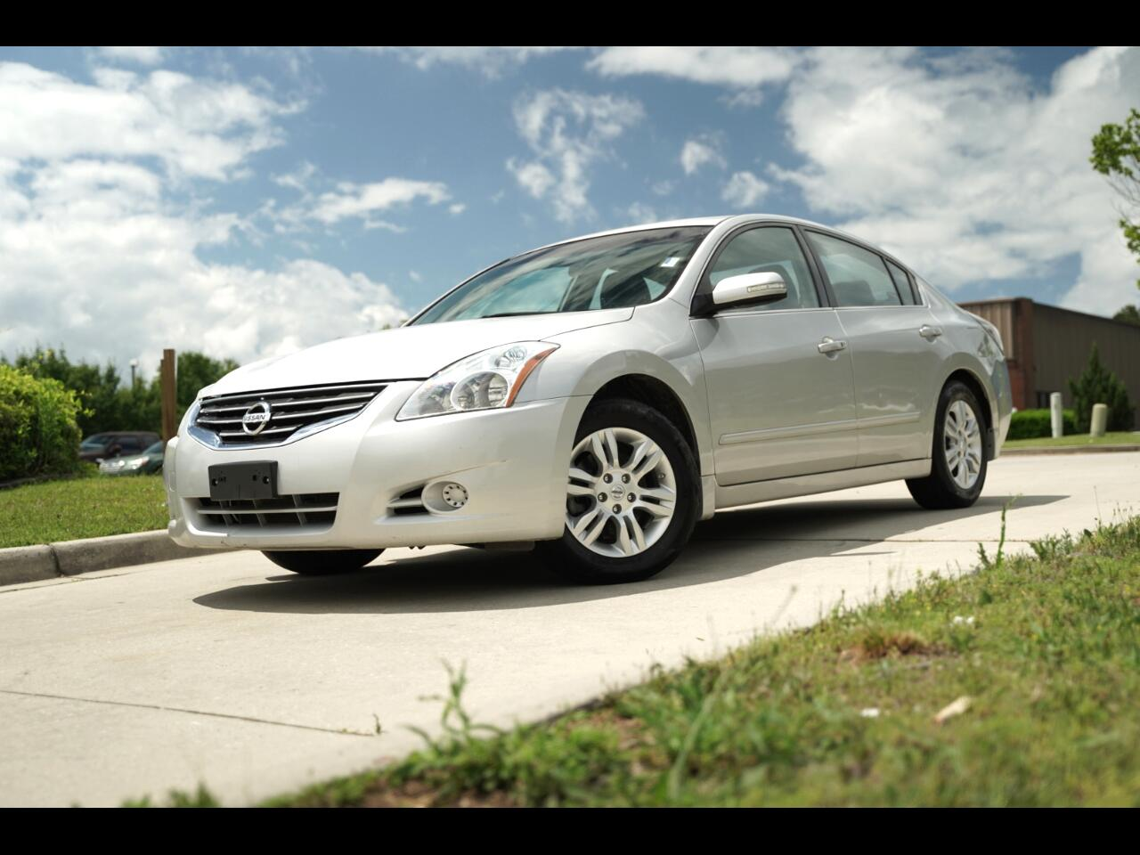 2012 Nissan Altima 4dr S Sedan Sunroof