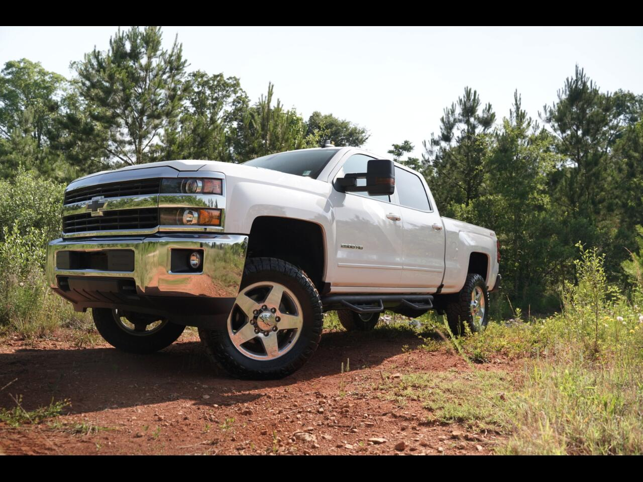 2016 Chevrolet Silverado 2500HD Duramax Diesel Leather 4WD Crew Cab LT Nitto Ridge