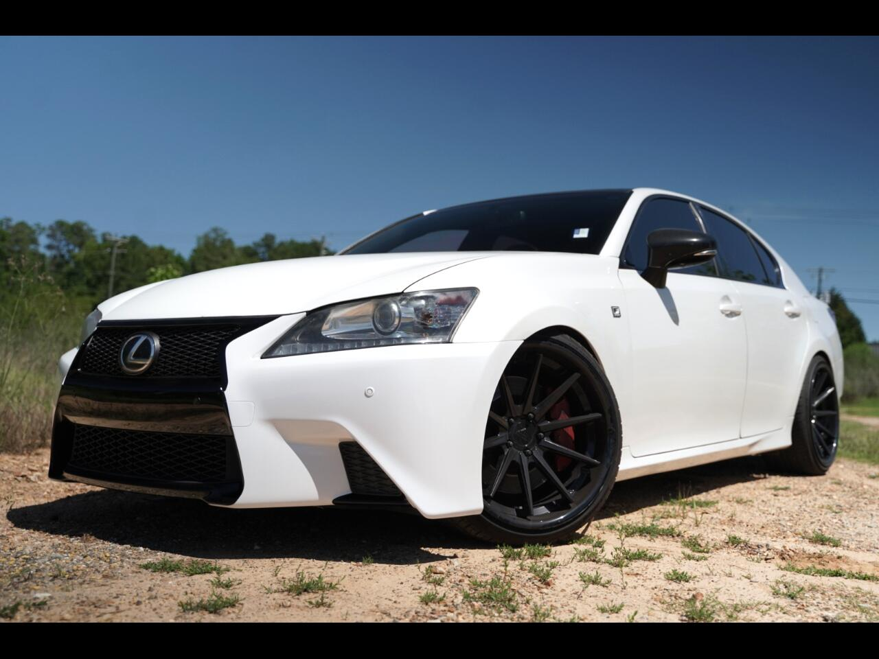 2013 Lexus GS 350 GS350 F Sport Loaded Extras and Upgraded Red Leath