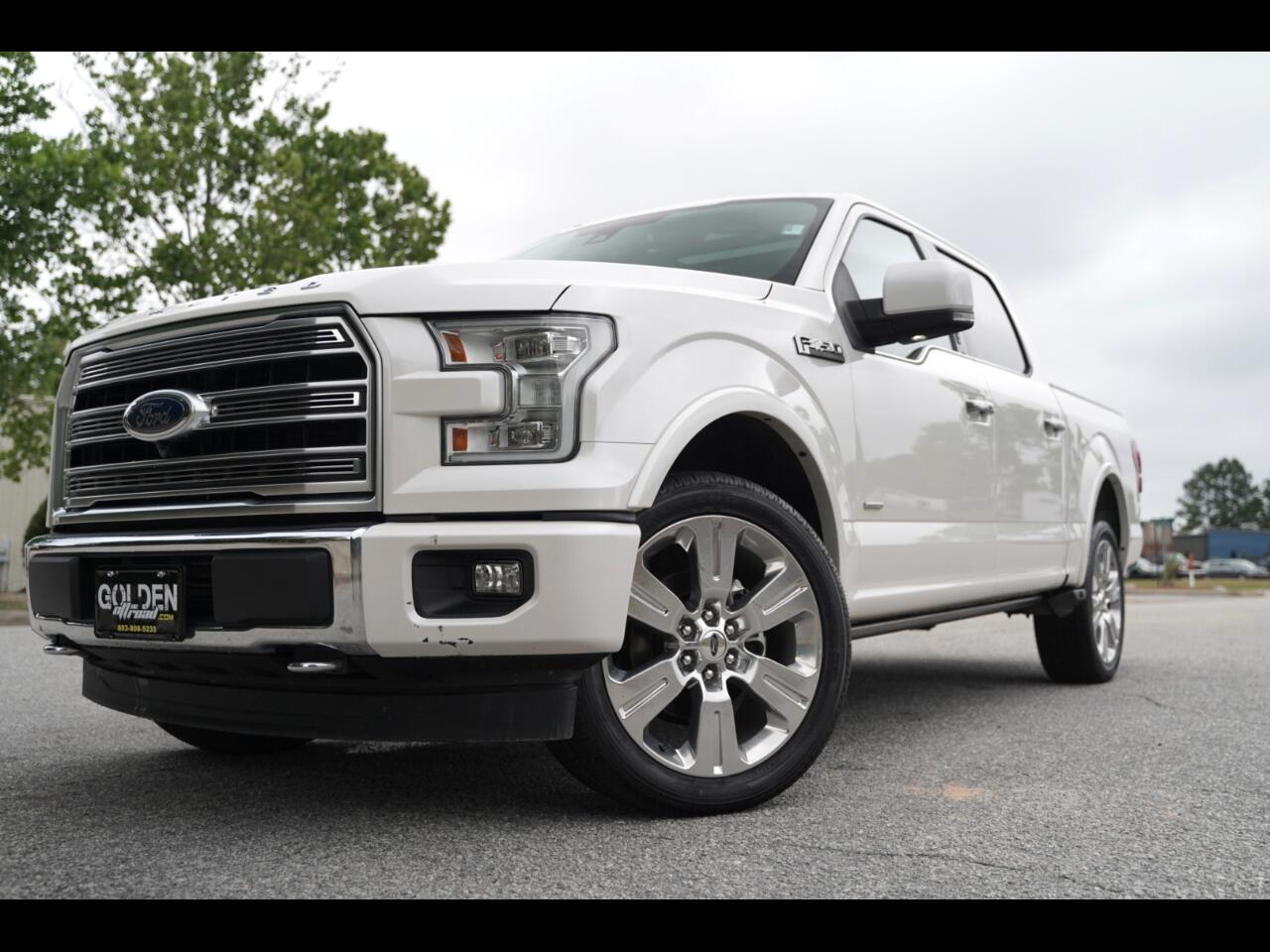 "2017 Ford F-150 4WD SuperCrew 145"" Limited"