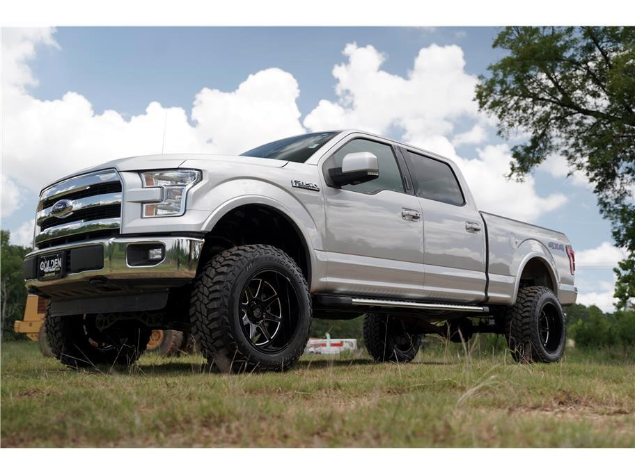 2016 Ford F-150 4wd Super Crew Lariat Lifted Loaded 5.0 V8