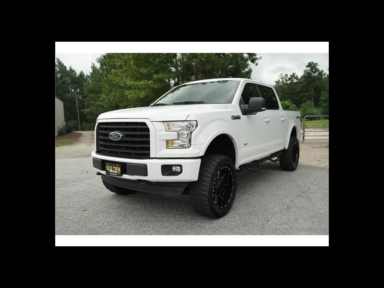 2017 Ford F-150 Super Crew Lifted Sport 4wd Upgrades! EcoBoost!