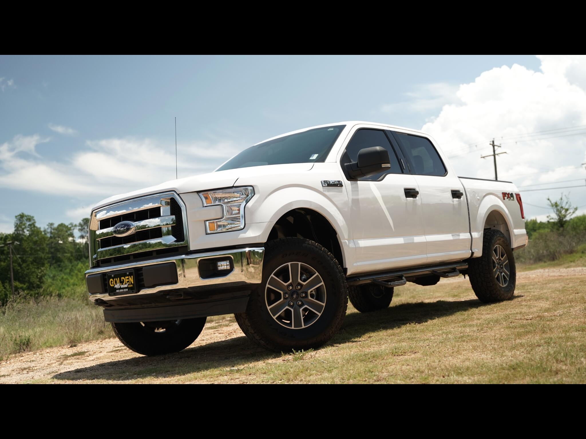 2017 Ford F-150 FX4 Super Crew 5.0 V8 Lifted Upgraded
