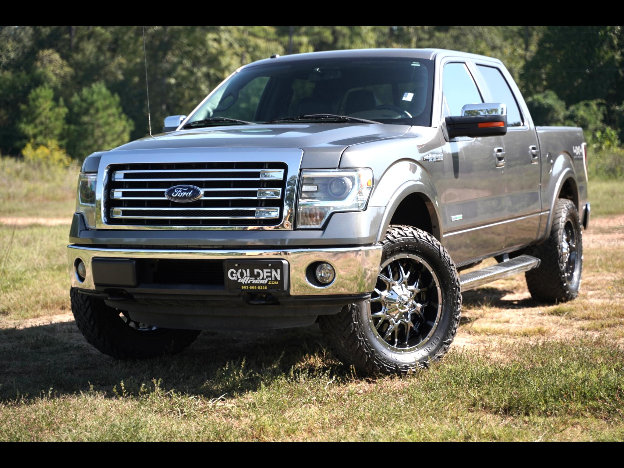 2013 Ford F-150 Lariat 4wd Lifted SuperCrew Upgrades EcoBoost