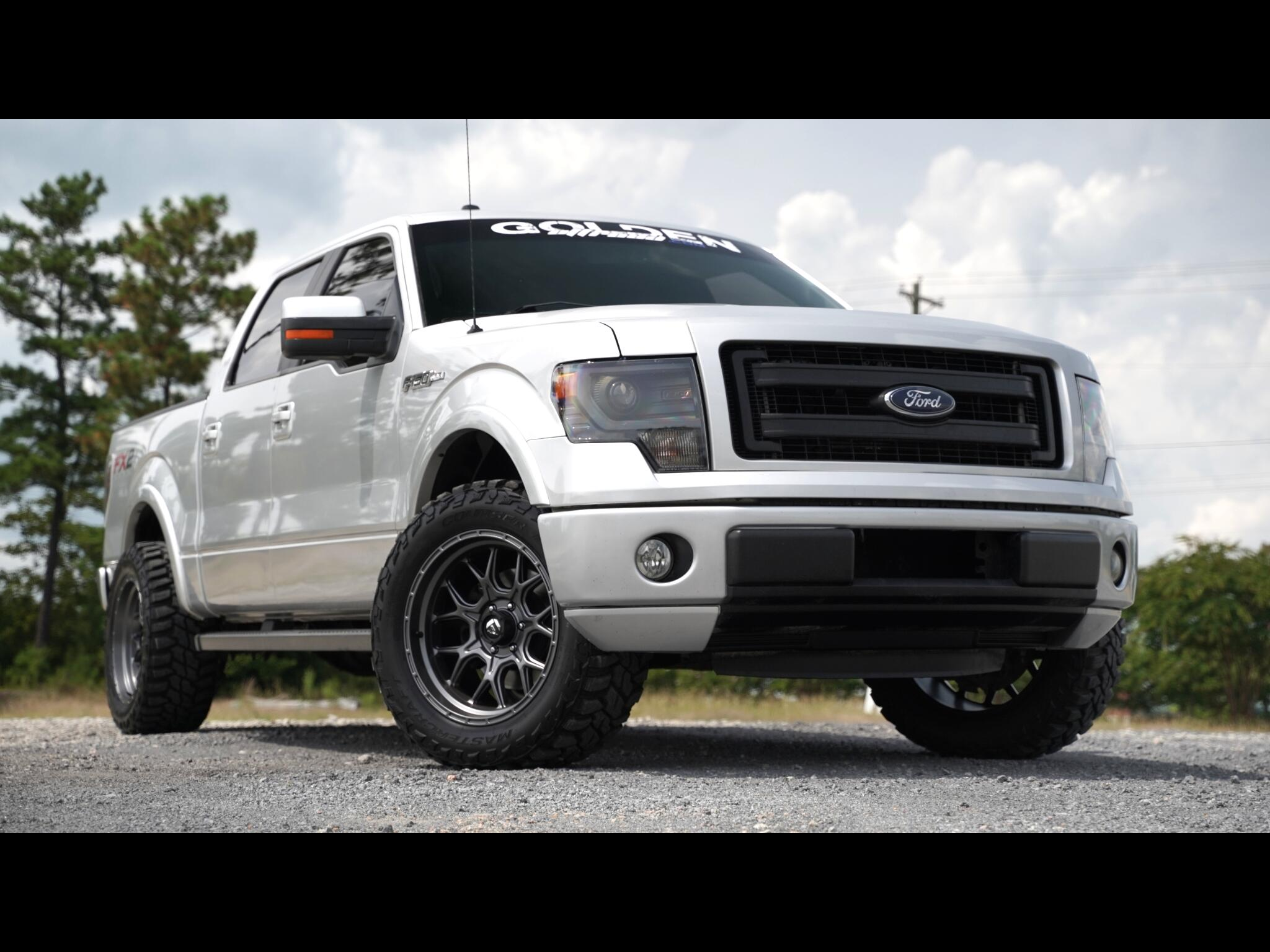 2013 Ford F-150 FX2 Lifted Loaded 5.0 Coyote V8 Leather Fuel Lifte