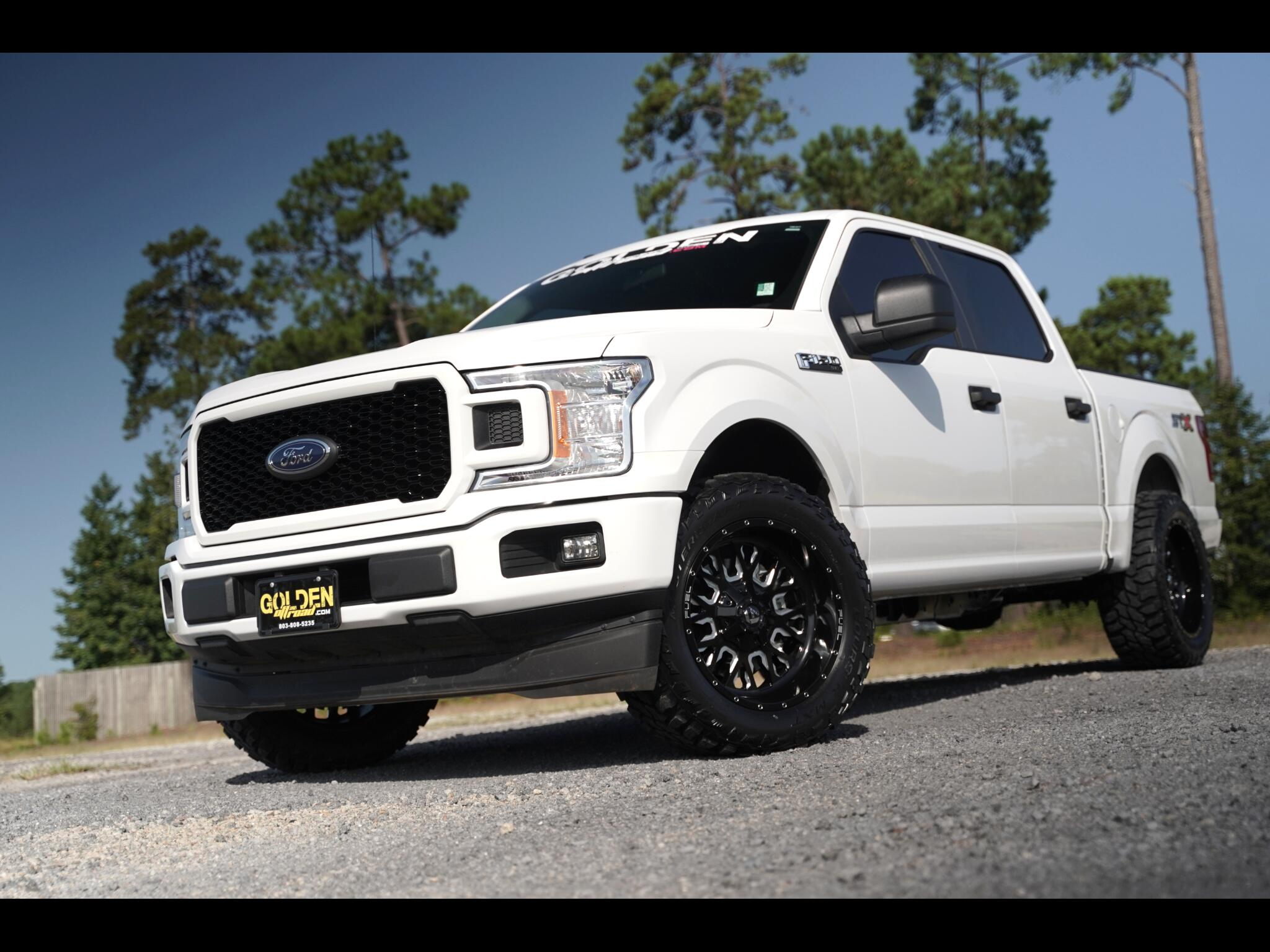 2018 Ford F-150 STX Lifted Super Crew Tons Of Extras