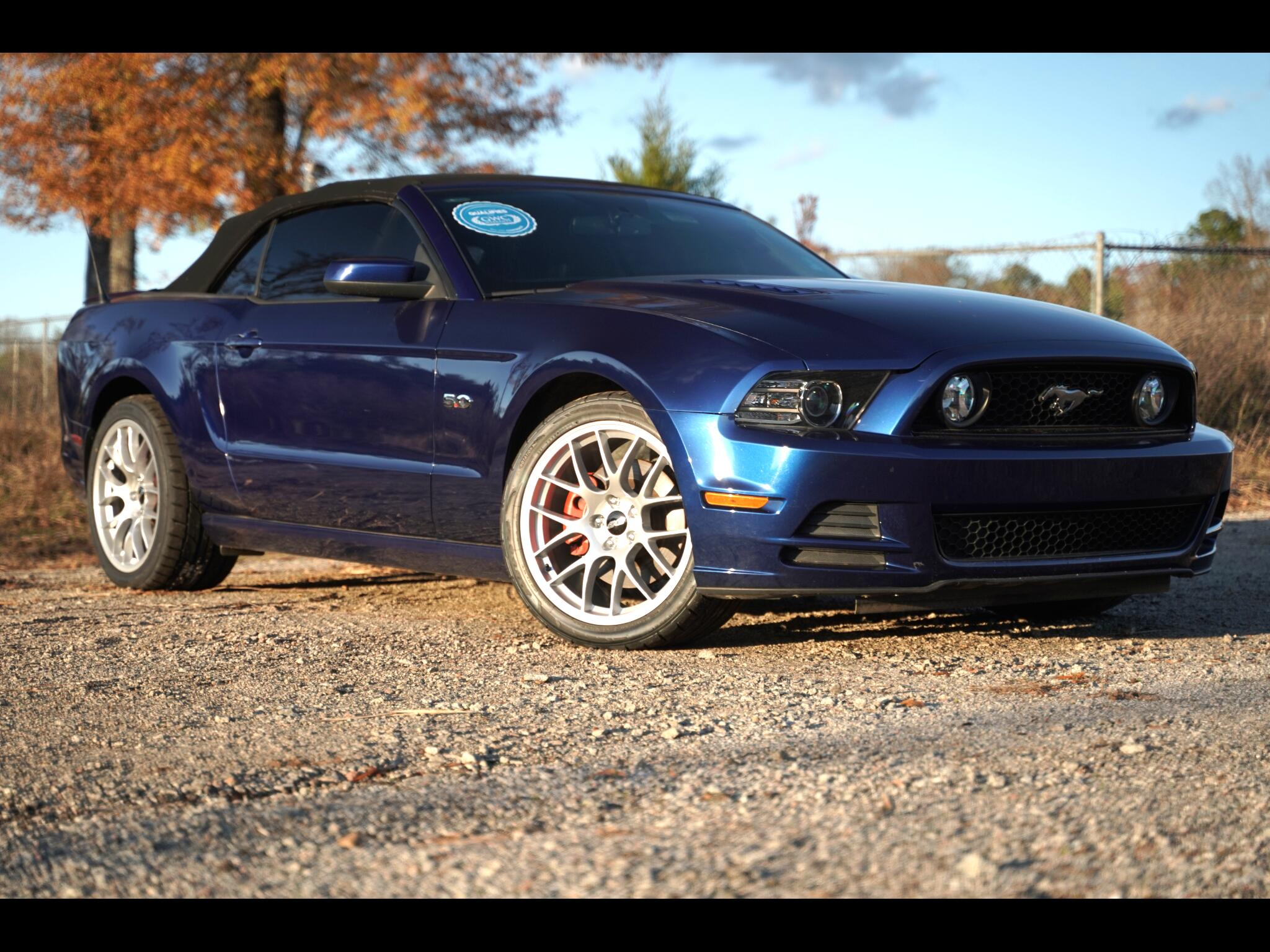 Used 2013 Ford Mustang Gt 5 0 Coyote Convertible For Sale In
