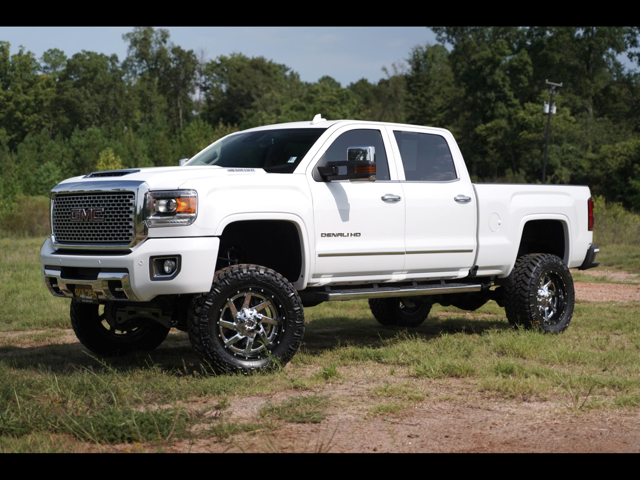 Lifted Gmc Sierra >> Used 2017 Gmc Sierra 2500hd 4wd Denali Lifted Tons Of