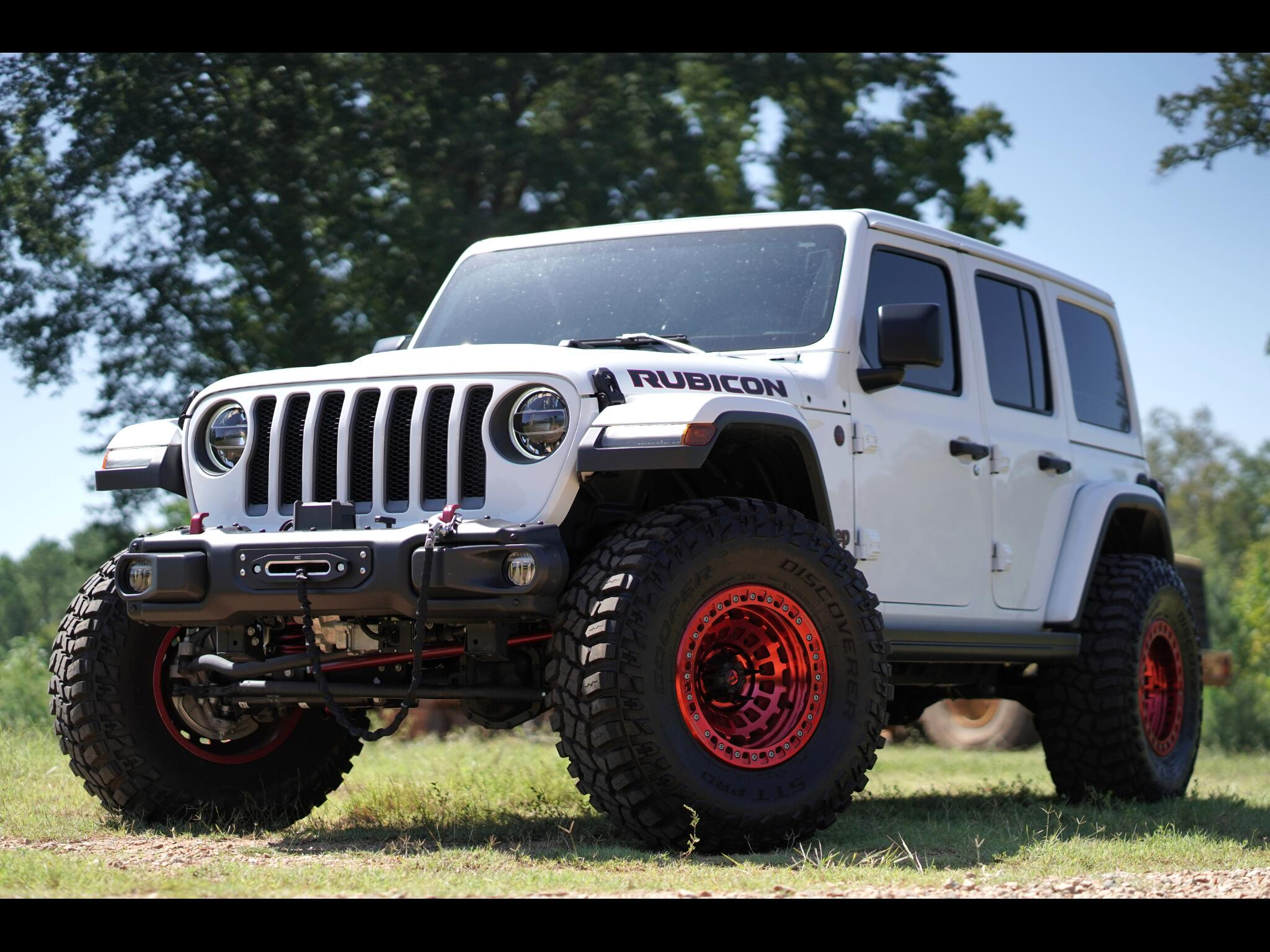 2018 Jeep Wrangler Unlimited RUBICON 4WD Unlimited Loaded Beadlocks RockKrawler