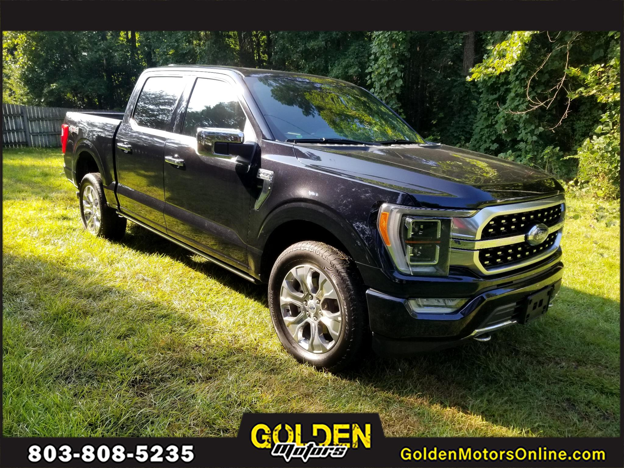 Ford F-150 King Ranch 4WD SuperCrew 5.5' Box 2021