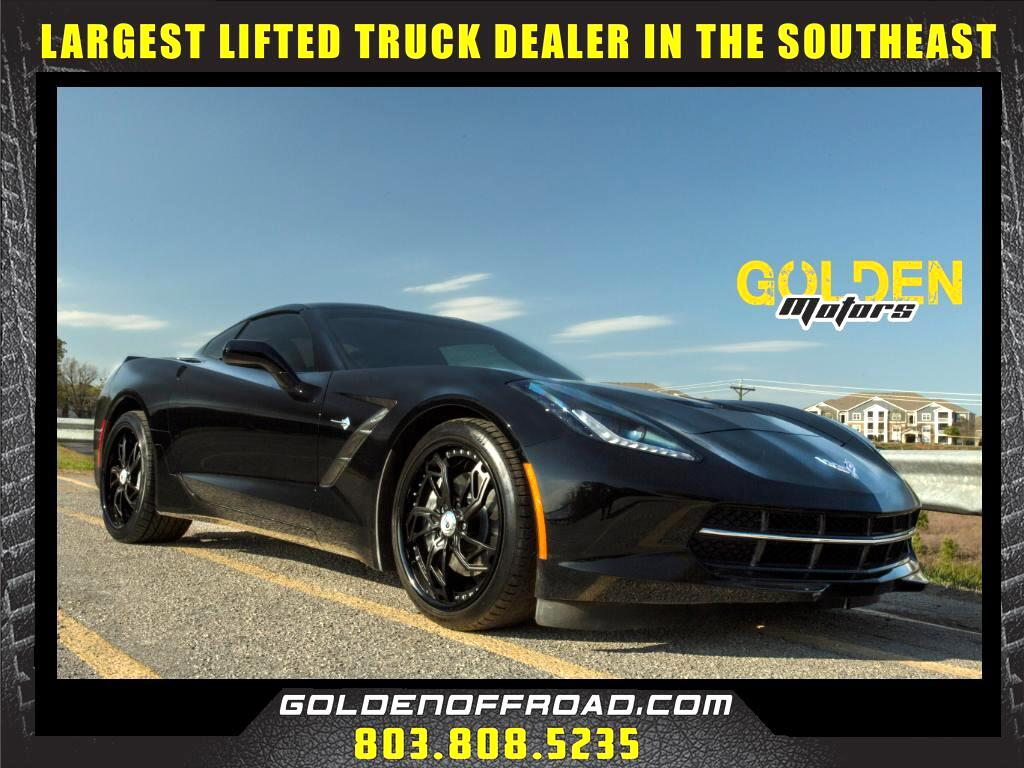 2015 Chevrolet Corvette Stingray Asanti Wheels Glass Roof Bose