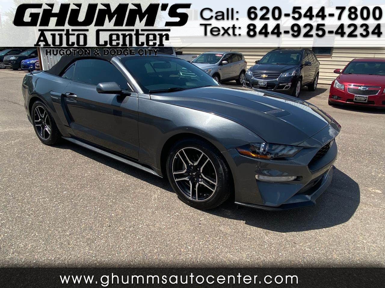 Ford Mustang EcoBoost Premium Convertible 2018