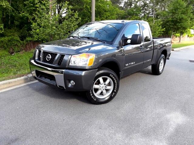 2011 Nissan Titan PRO-4X King Cab 4WD SWB