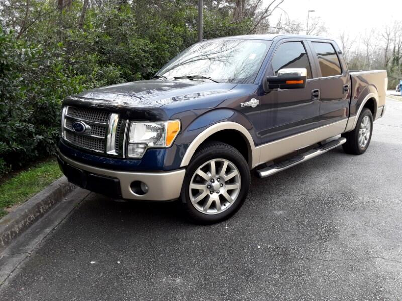 2010 Ford F-150 KING RANCH CREW 5.5-FT BED 2WD