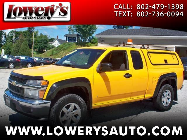 2009 Chevrolet Colorado 4WD Ext Cab 125.9