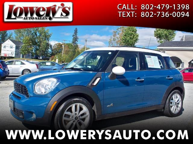 2012 MINI Countryman AWD 4dr S ALL4