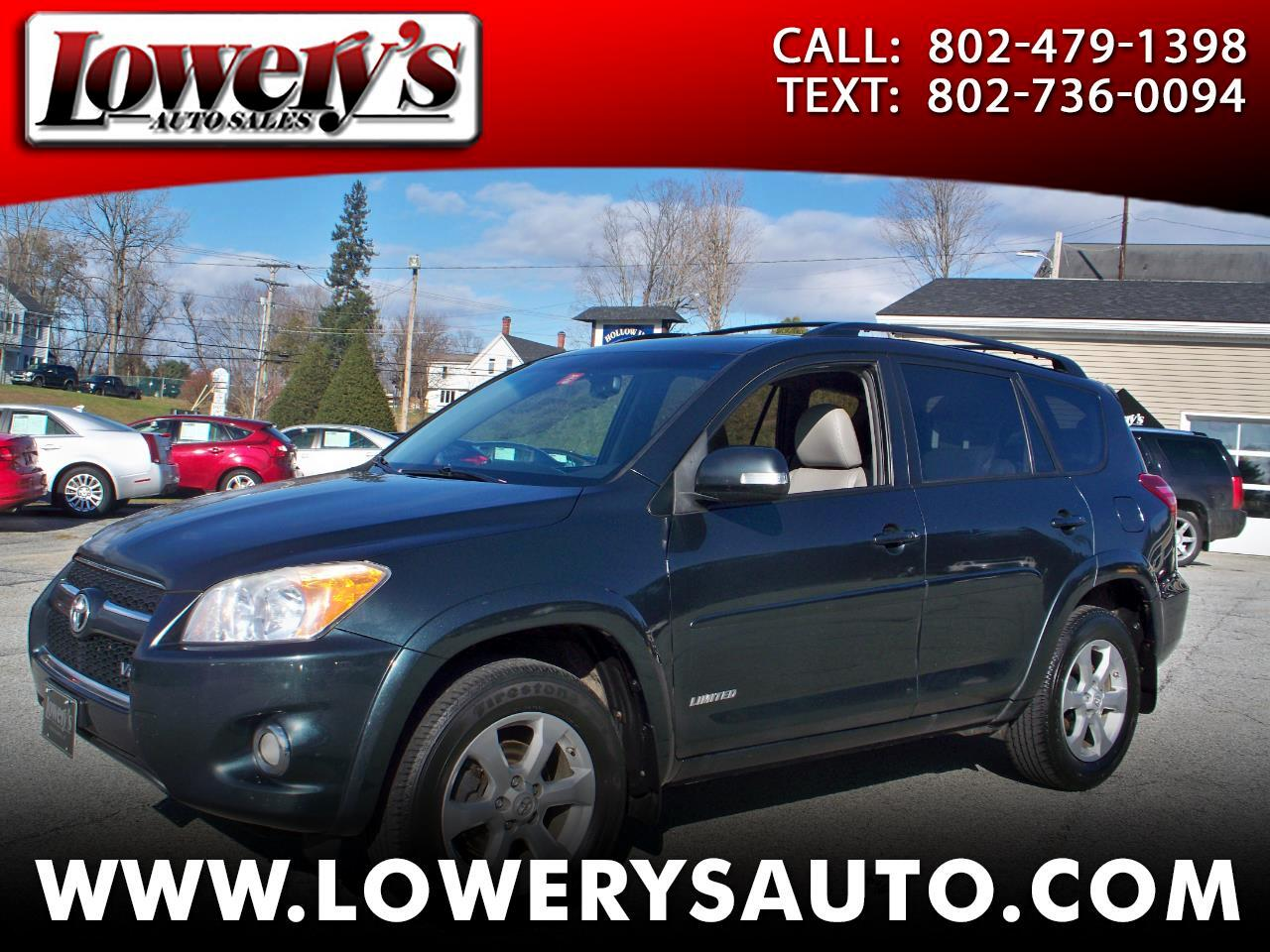 2010 Toyota RAV4 4WD 4dr V6 5-Spd AT Ltd (Natl)