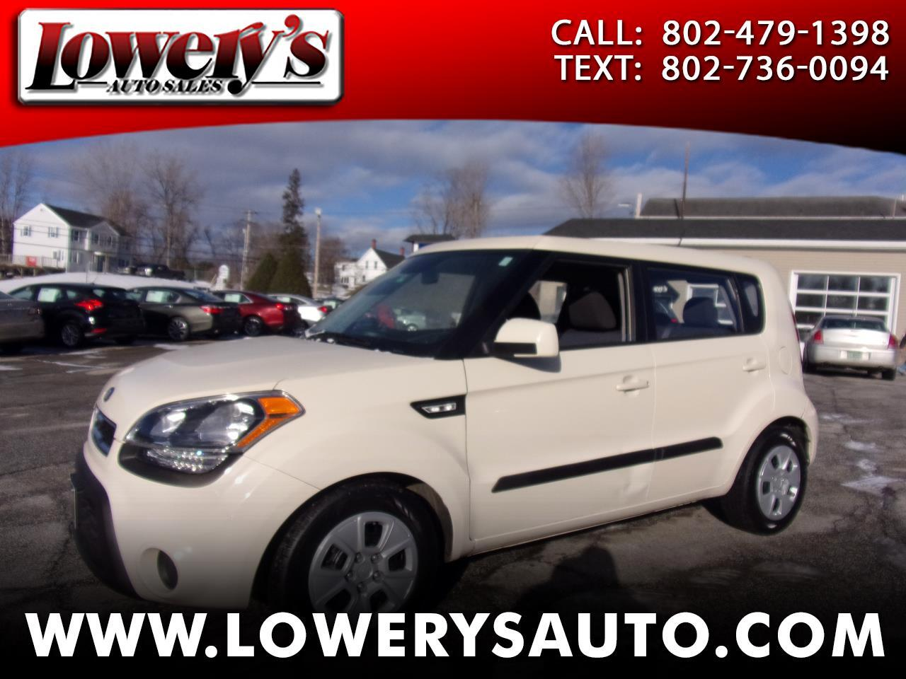 Kia Soul 5dr Wgn Man Base 2013