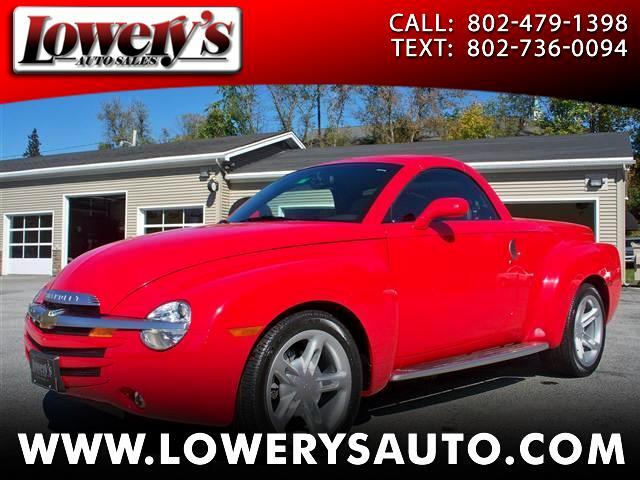 2004 Chevrolet SSR Convertible Pickup 2D