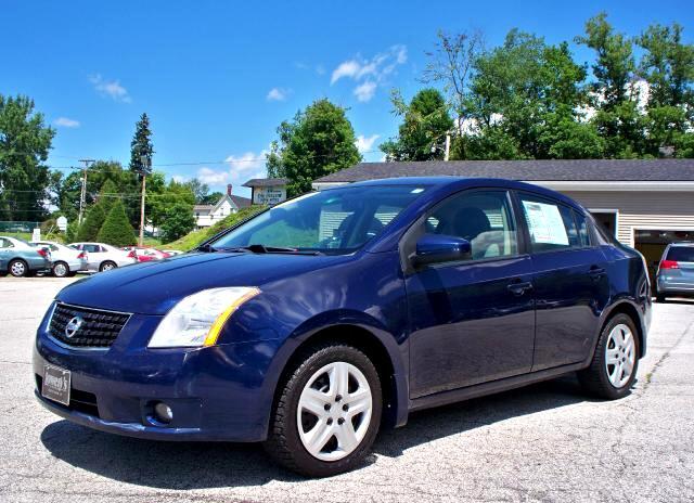 2008 Nissan Sentra 4dr Sdn I4 Man 2.0 S