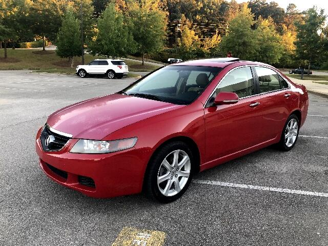 2004 Acura TSX 5-speed AT