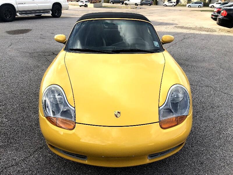 2002 Porsche Boxster Base