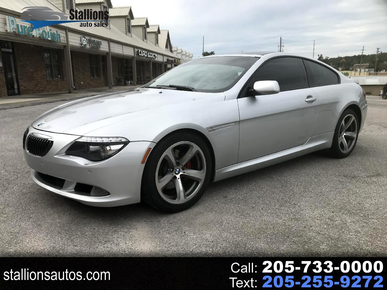 BMW 6-Series 650i Coupe 2008