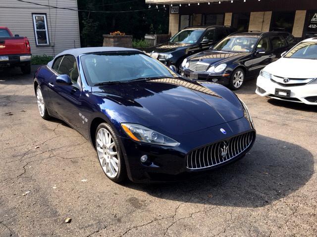 2013 Maserati GranTurismo Convertible 2dr Conv GranTurismo Sport