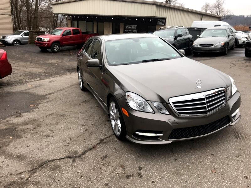 2013 Mercedes-Benz E-Class E350 Sport 4MATIC Sedan