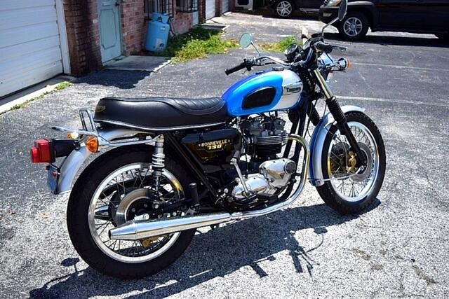 1979 Triumph Bonneville