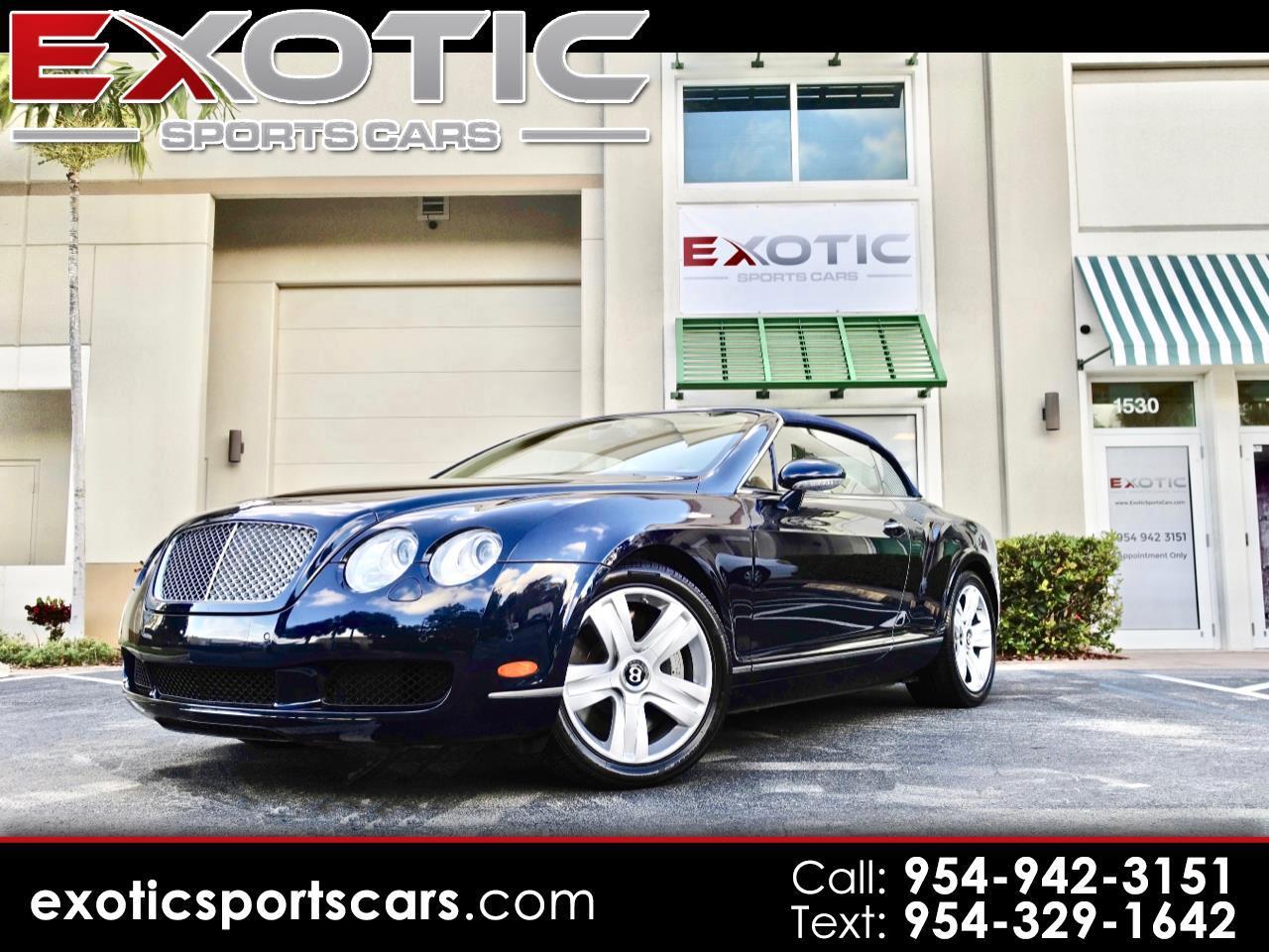 2008 Bentley Continental GT 2dr Conv