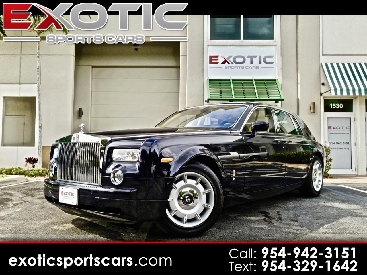 2004 Rolls-Royce Phantom 4dr Sdn