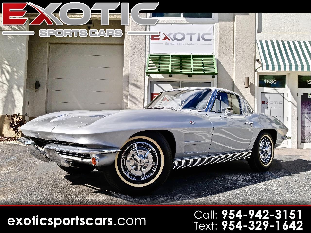 1963 Chevrolet Corvette Sting Ray  Split Window Coupe