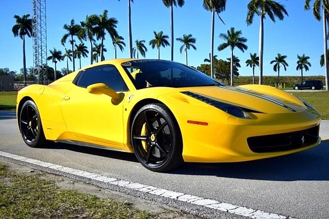 2013 Ferrari 458 Italia 2dr Conv