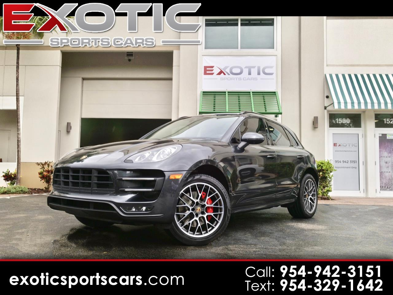 2017 Porsche Macan Turbo AWD