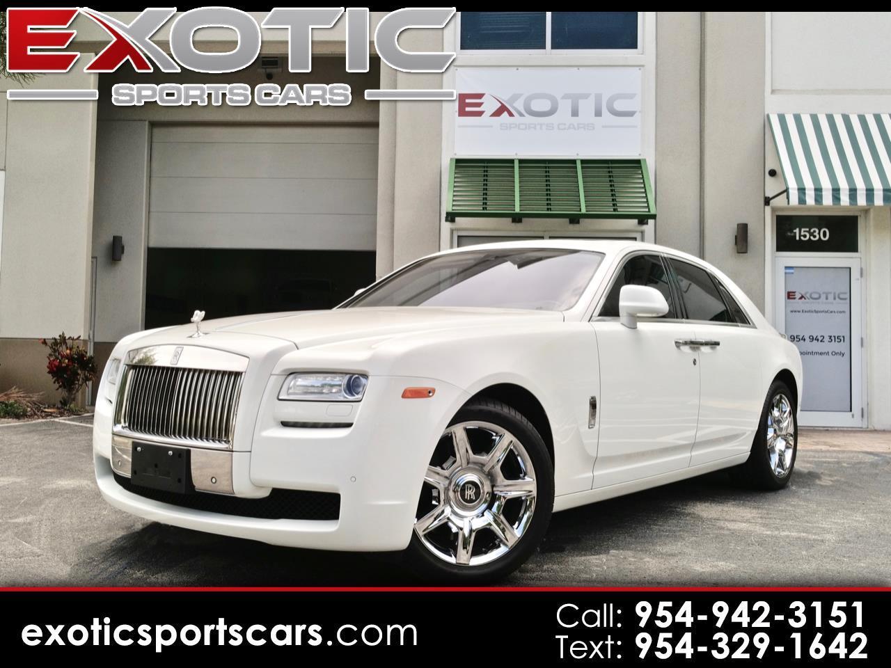 2013 Rolls-Royce Ghost 4dr Sdn