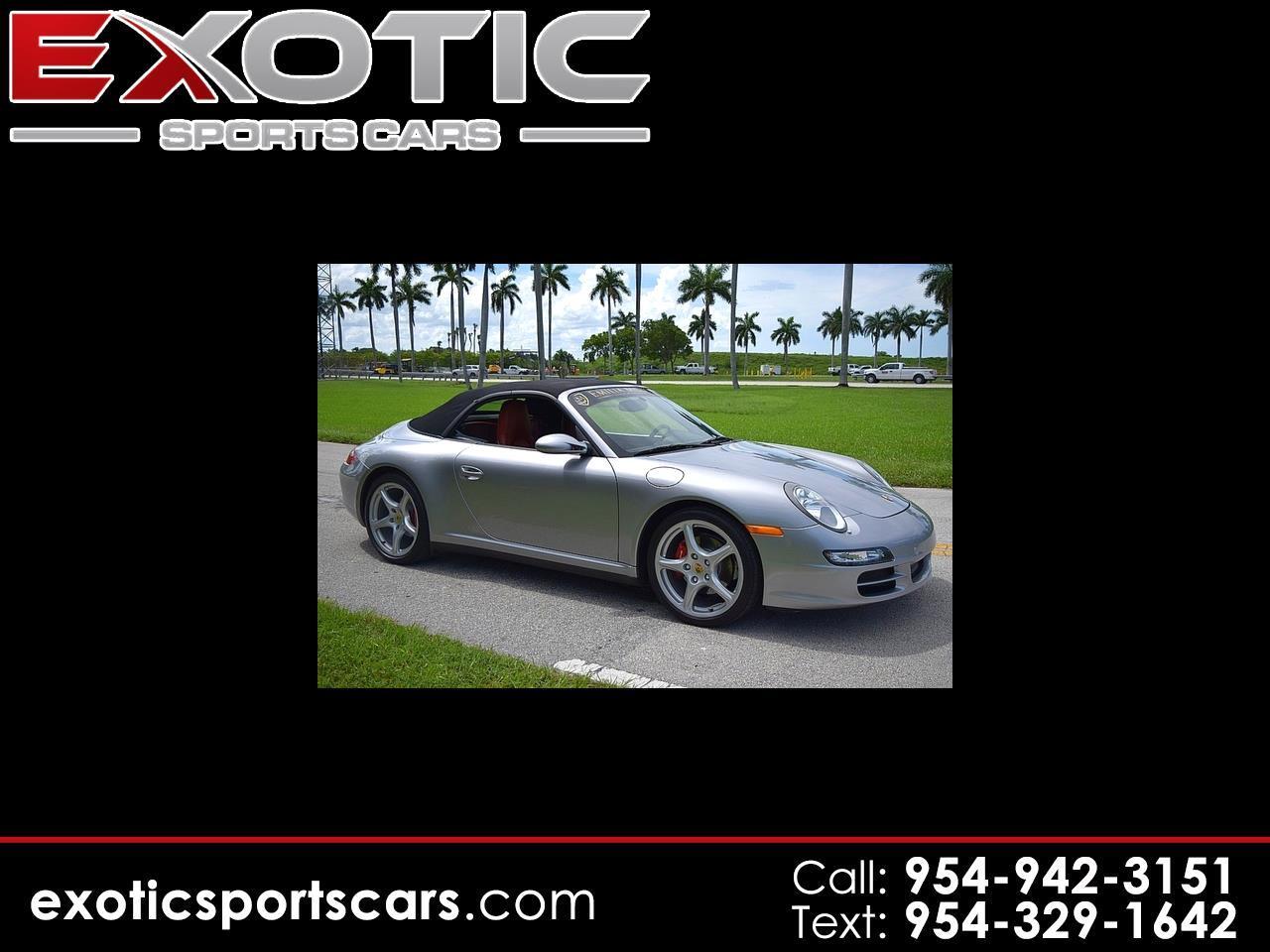 2006 Porsche 911 2dr Cabriolet Carrera