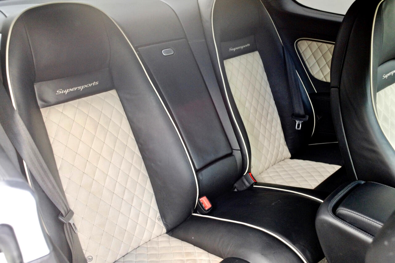 2011 Bentley Continental Supersports 2dr Cpe Supersports