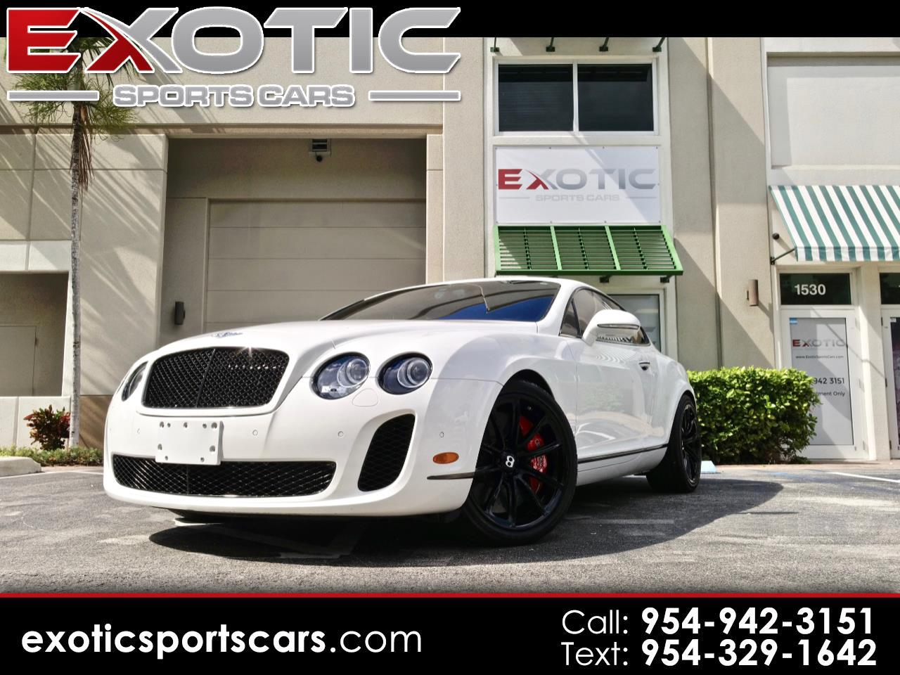 Bentley Continental Supersports 2dr Cpe Supersports 2011