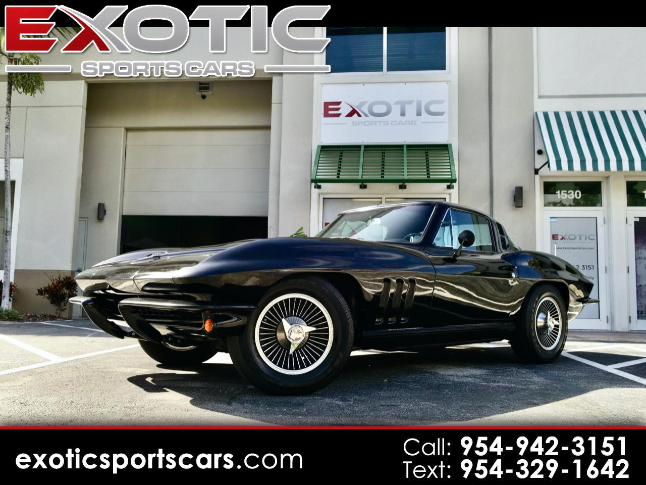 Chevrolet Corvette Stingray 1LT Coupe Manual 1965
