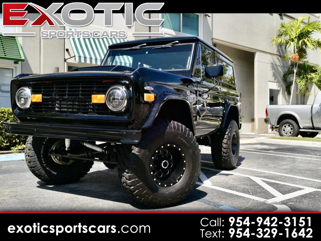 Ford Bronco 2dr Wagon 1971