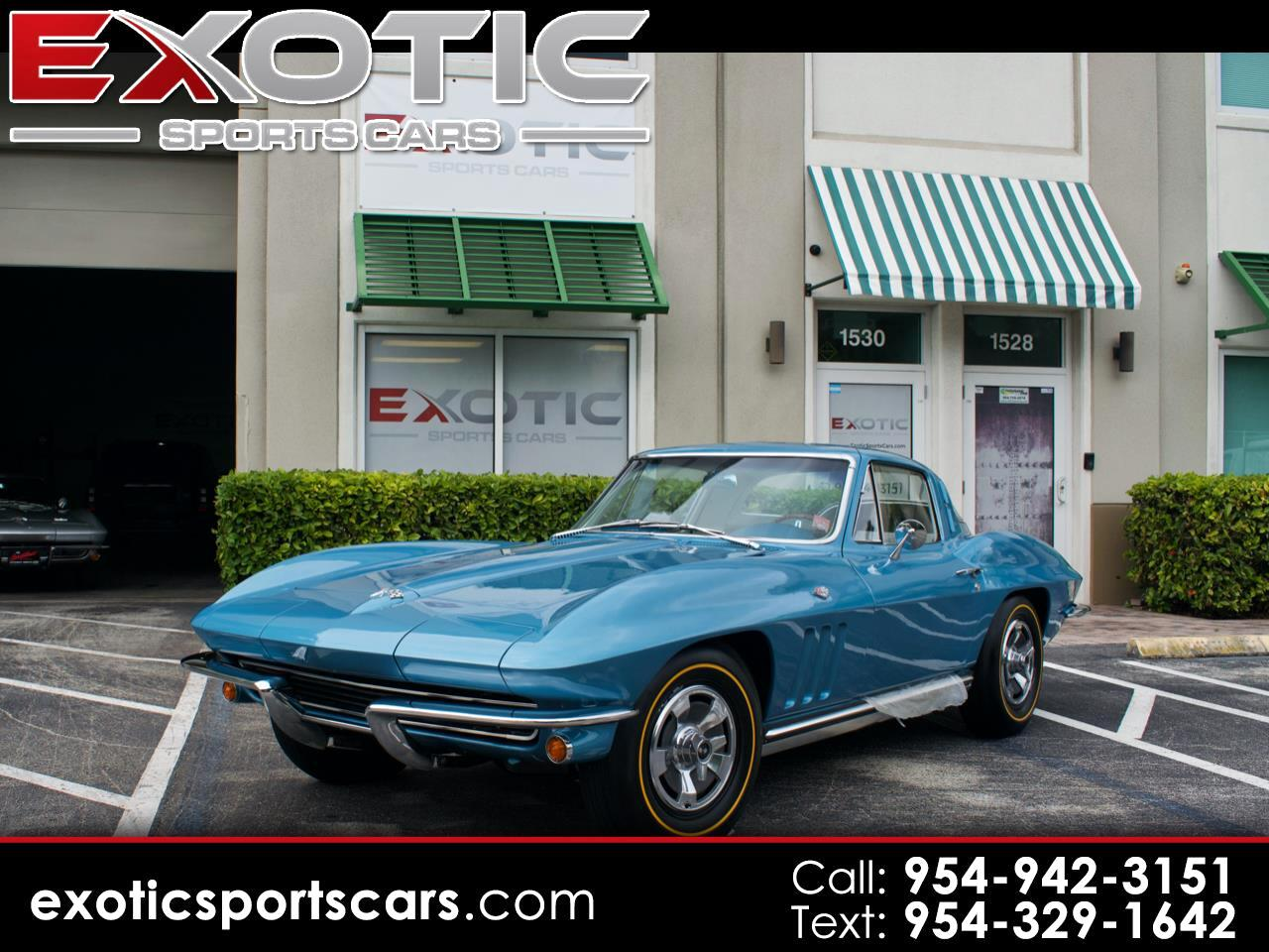 Chevrolet Corvette Stingray 2dr Cpe w/1LT 1965