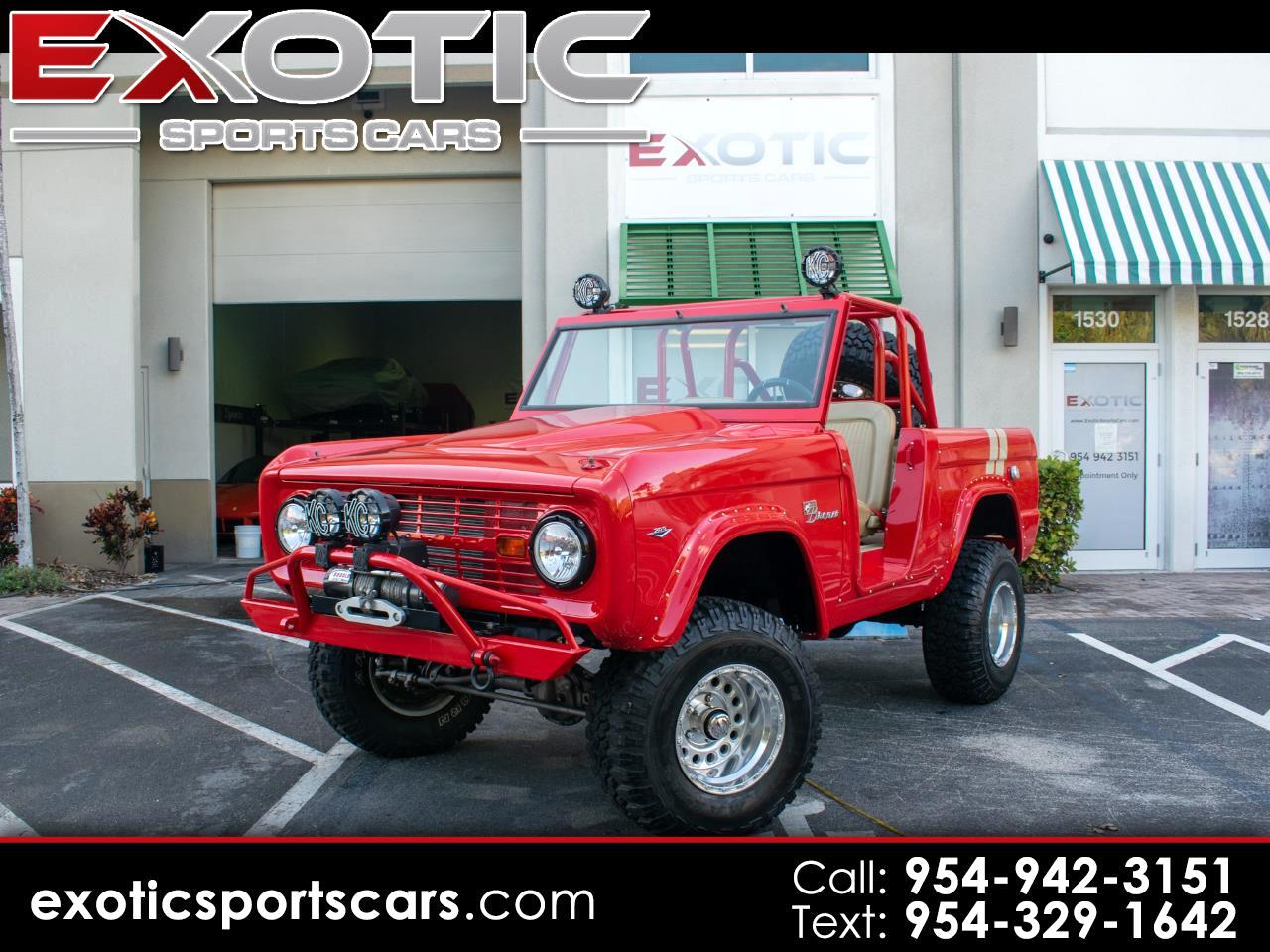 Ford Bronco 4WD  1966