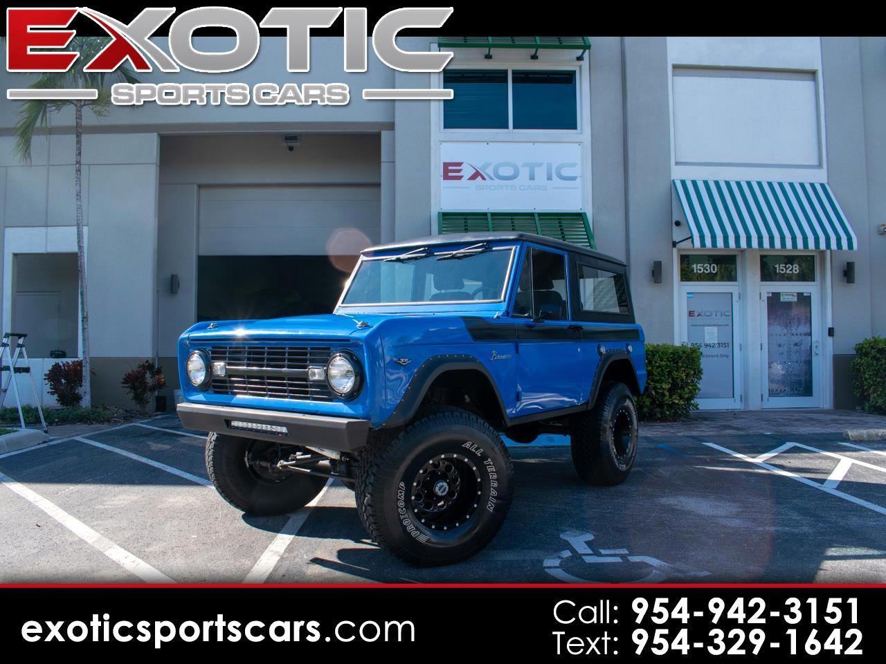 Ford Bronco 4WD  1975