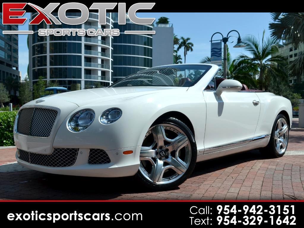 2013 Bentley Continental GTC Convertible