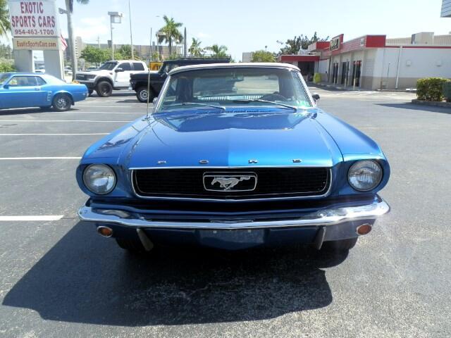 1966 Ford Mustang 2-Door Convertible