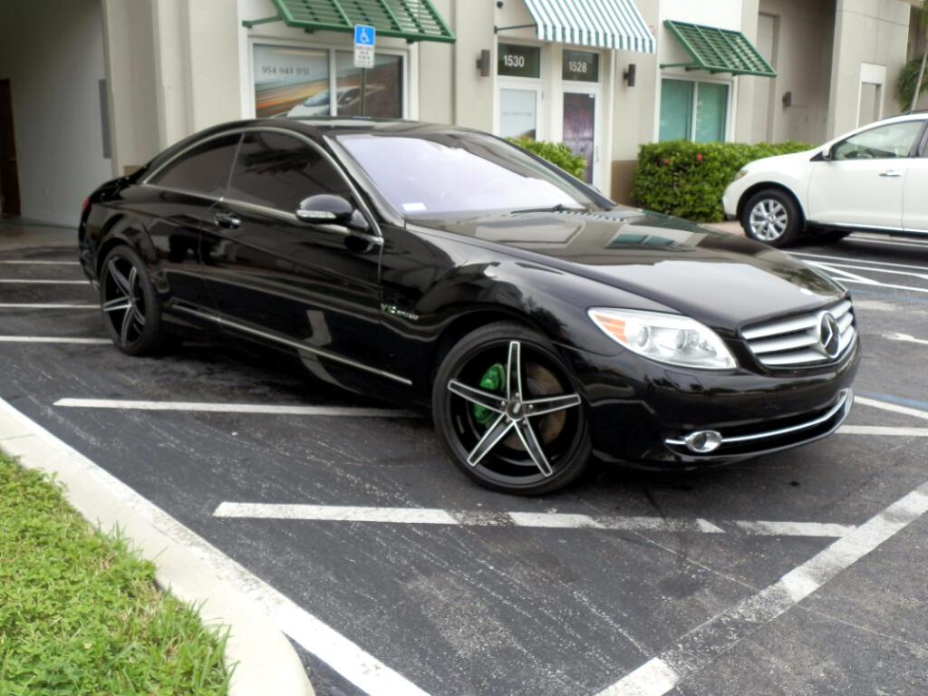 2007 Mercedes-Benz CL-Class CL600