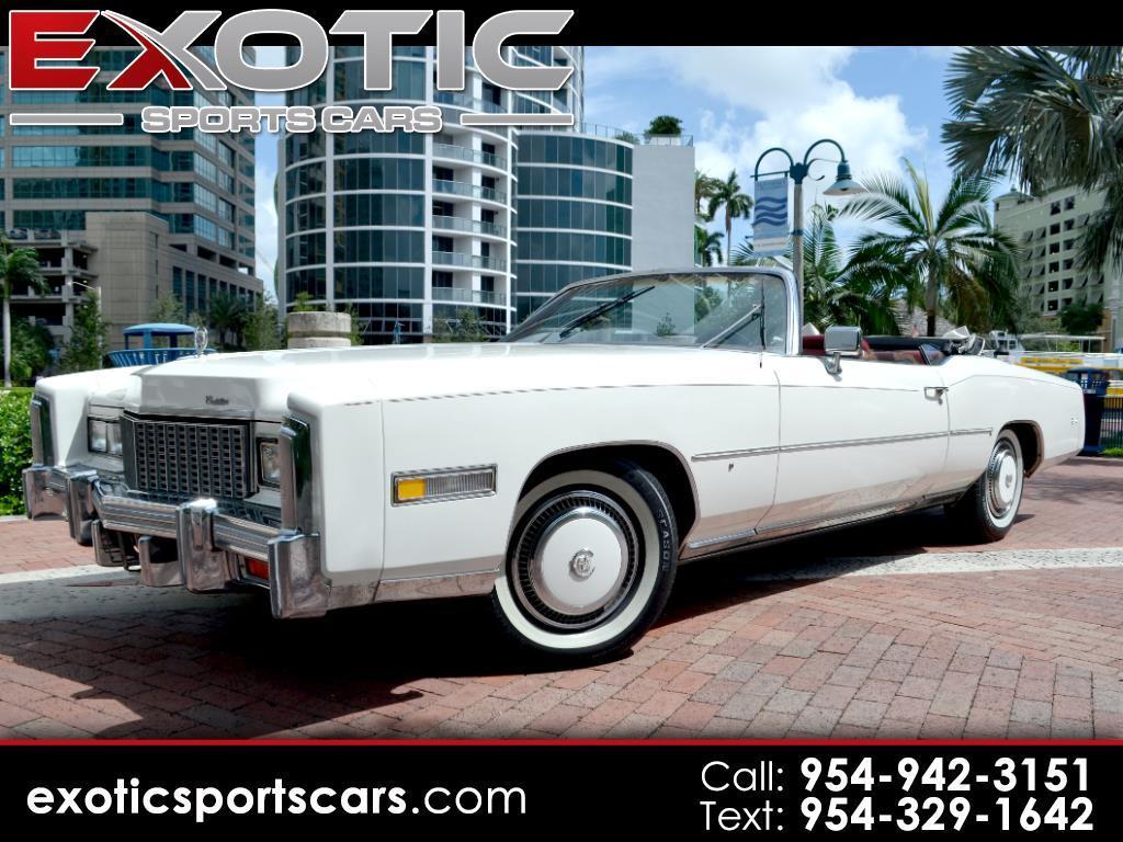1976 Cadillac Eldorado Special Edition